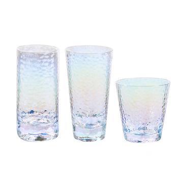 Инновационная стеклянная Радужная чашка с антикапельным орнаментом, домашний контейнер для питьевой воды, чашка для молока, украшение для ...