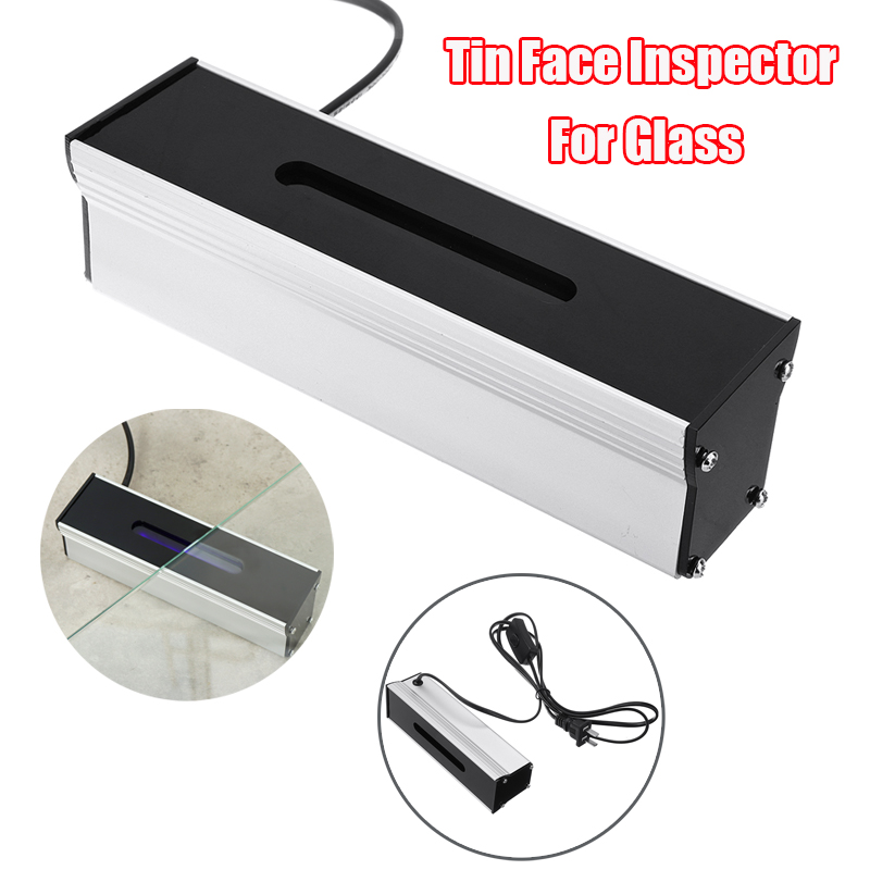 4W Tin Side Detector Aluminium Shell UV Lamp Side Detector Tin Face Indicator Inspector For Glass 17cm*5cm*5cm Indicator Lights