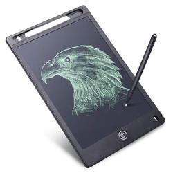 Ppyy novo-lcd escrita tablet, desenho placa de escrita para crianças e empresário, 8.5 Polegada eletrônico doodle almofada para casa, escola a