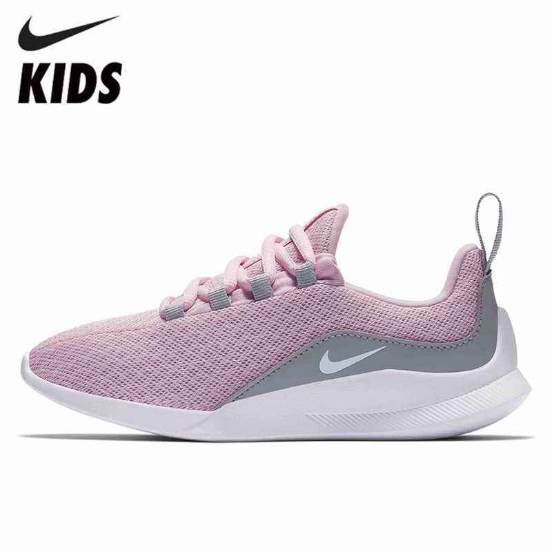 cac6823cb4 Nike VIALE Children Mesh Light Comfortable Ventilation Leisure Time Sneakers  Children Shoes Boy And Girl Shoes