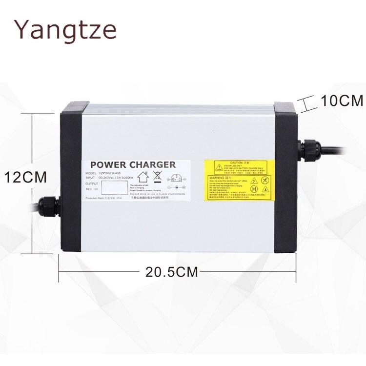 Yangtze 72.5 V 10A 9A 8A chargeur de batterie au plomb pour 60 V Ebike e-bike Pack AC DC alimentation
