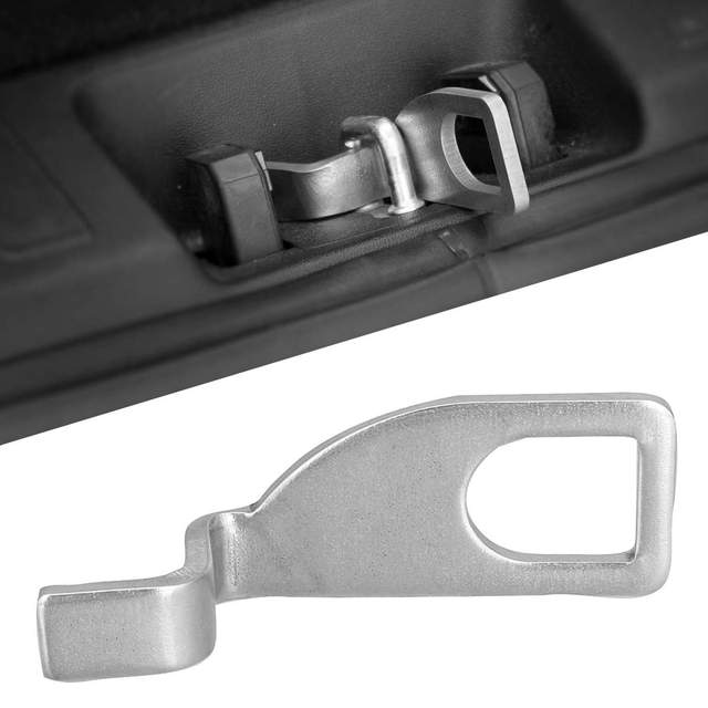 Universal Stainless Steel Car Tailgate Holder Standoff Fresh Air Vent Lock Hook Camping Dub For VW T4 T5 T6 Bus Display Stand