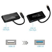 Wiistar USB typu c do HDMI VGA Adapter Audio USB 3.1 do VGA HDMI 3.5mm 1 w 3 out do laptopa Macbook Huawei Mate 10/20 P20(China)