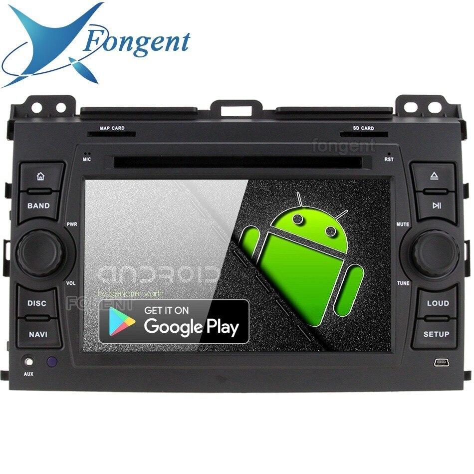 Android 9.0 Auto 2 din lettore DVD multimedia GPS Radio per Toyota Land Cruiser Prado 120 2003 2004 2005 2006 2007 2008 2009 2010