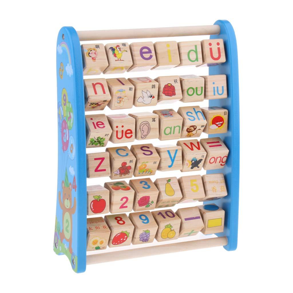 Abacus en bois nombre Alphabet blocs comptage jeu Imagination créativité développement jouets éducatifs pour enfants enfants