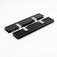 2 x алюминиевая прокладка радиатора кулер охлаждения для радиатор видеокарты, алюминий памяти