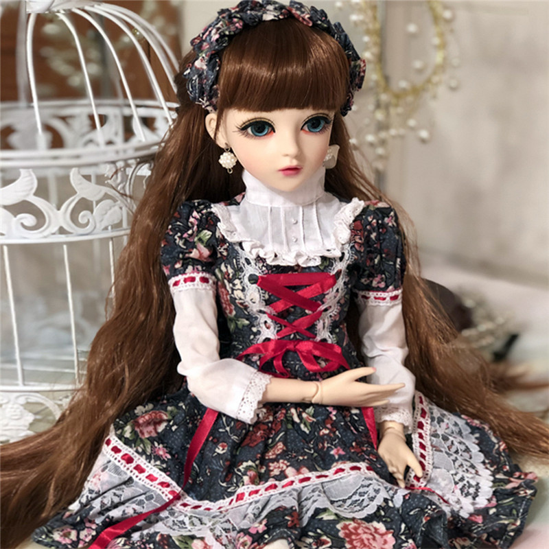 1 3 BJD Doll With Clothes Movable Joint Body Doll Support Change Eyes DIY Doll Girls