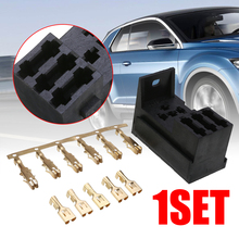 цена на Car Relays 1 Set 3 Fuse Base Kit 4&5 PIN Flasher Relay ATO Fuses Holder Socket Box for Car Truck SUV