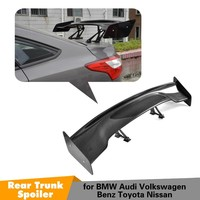 Universal Car Styling Carbon Fiber Rear Trunk Spoiler GT Wing for BMW Audi Volkswagen Benz Toyota Nissan GT Spoiler