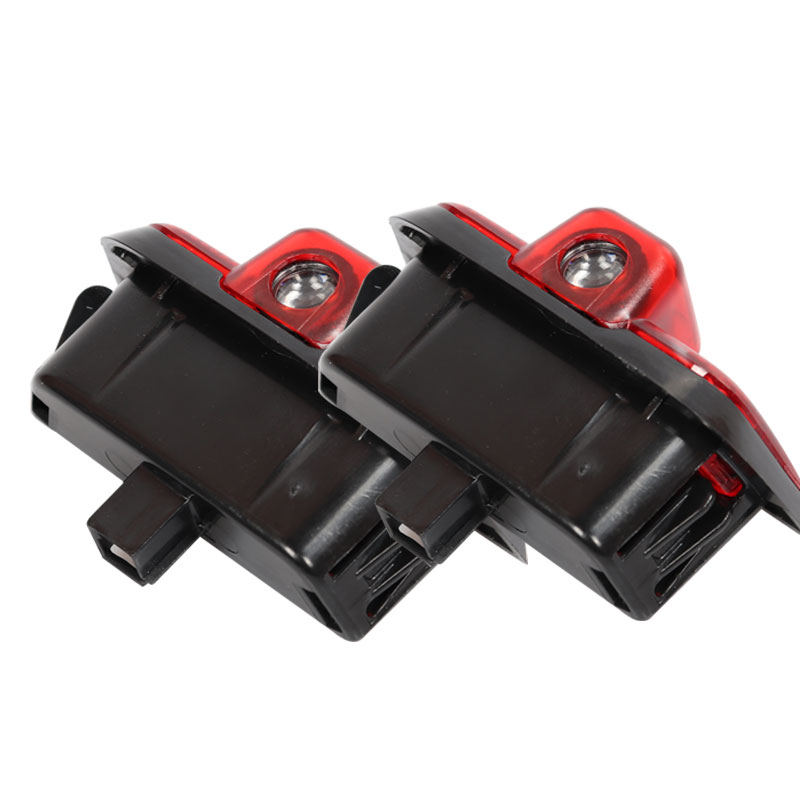 2x Car LED Logo Light Door Projector Warning Welcome Lights For <font><b>Mercedes</b></font> <font><b>Benz</b></font> <font><b>W204</b></font> C-Class 2008-2014 C260 <font><b>C200</b></font> C300 C280 C230 image