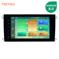 Harfey 2Din Android 8.0 8 Car Radio For 2003 2011 Porsche cayenne GPS Navigation Multimedia Player Support Wifi 4G head unit