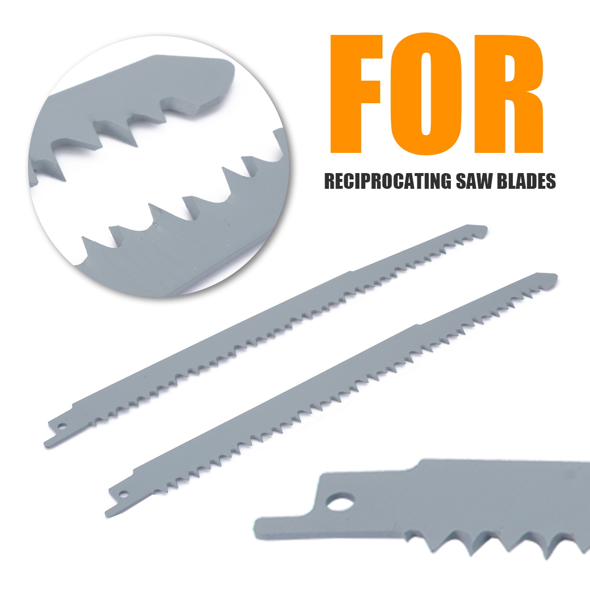 2 Pieces Reciprocating Saw Blades  S1531L 240mm 10