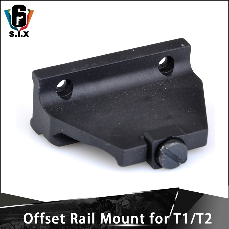 Offset Rail Mount for T-1 T-2 Tactical T1 Red Dot Mount Scope Aceesory image