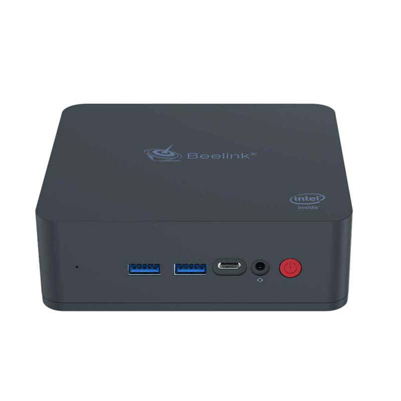 Beelink U55 Mini Pc Intel Core I3-5005U Processor(Intel Hd Image 5500), Ddr3L 8Gb Ram/512Gb Ssd/Diy Hdd 1000Mbps Lan 2.4/5.8G