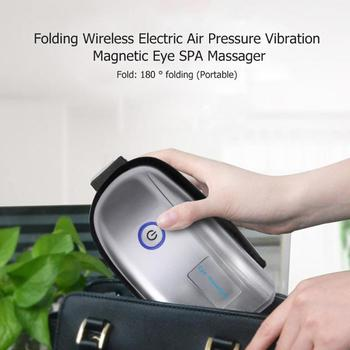Spa ir electric air pressure wireless vibration magnetic  eyes massager