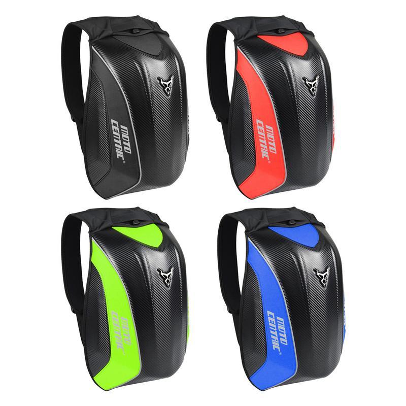 Nouveau sac à dos de Moto en Fiber de carbone sac à dos d'équitation MC sac à dos de Moto