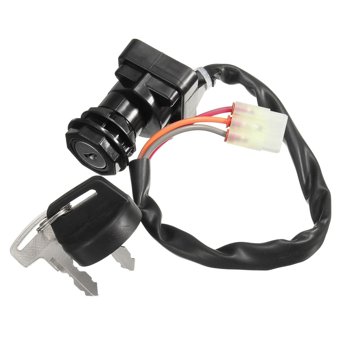 Ignition Key Switch With 2 Keys For SUZUKI LT-F250 For OZARK LTZ400Z ARCTIC CAT 500 AS1487SW126LM 37110-07G00 27005-S005