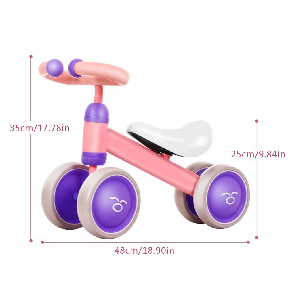 12 Inch Balance Bike Toddler Without Pedals For 1 – 5 Year Old, Pink 2