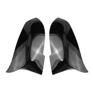 Image 2 - VODOOL 2 قطعة سيارة مرآة الرؤية الخلفية غطاء كاب مرايا جانبية الإسكان يغطي ل BMW 3 4 سلسلة F30 F31 F32 F33 F36 320i 328i 420i 428i