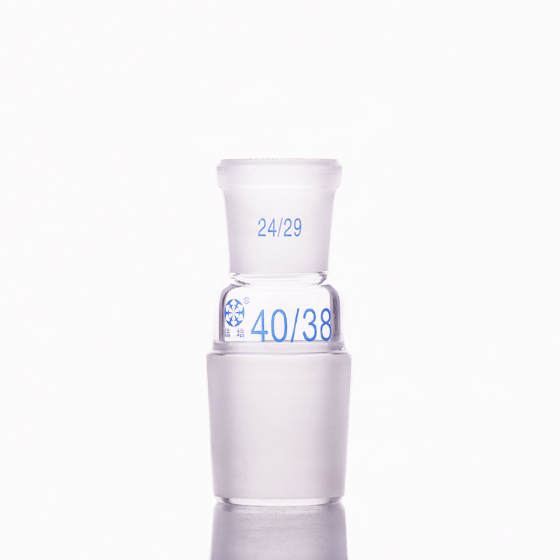 Borosilicate Glass Joint,Female 24/29,Male 40/38,Glass reducing Adapter,A type connectorBorosilicate Glass Joint,Female 24/29,Male 40/38,Glass reducing Adapter,A type connector