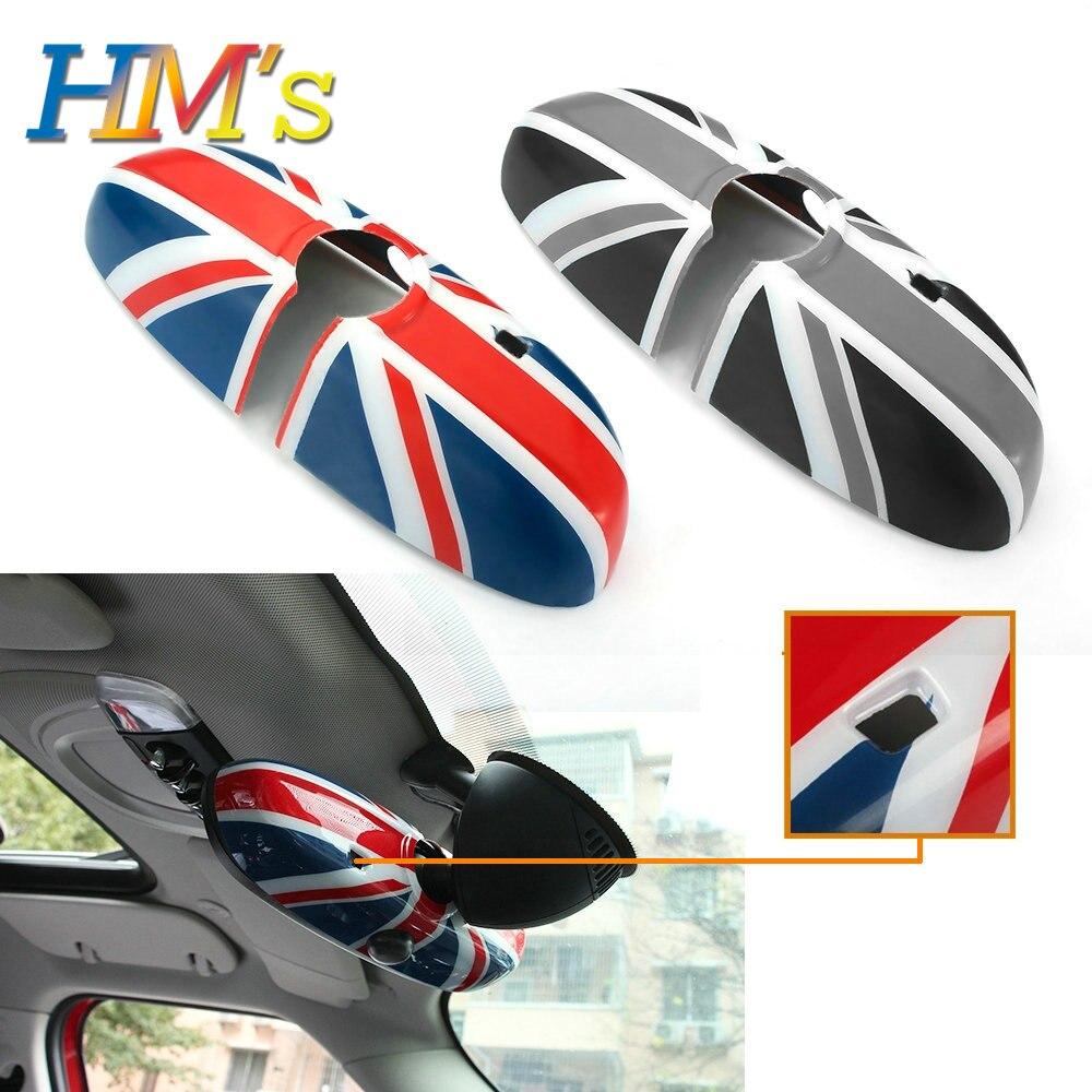 Pour MINI Cooper F56 F55 voiture rétroviseur intérieur autocollant pour MINI Cooper accessoires pour MINI Countryman F60 Clubman F54