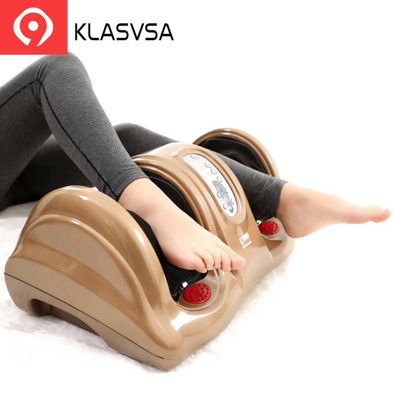 KLASVSA Électrique Chauffage Shiatsu masseur jambes et pieds Pétrissage Gua Sha Massage De Réflexologie dispositif Stimulateur Musculaire La Détente À La Maison