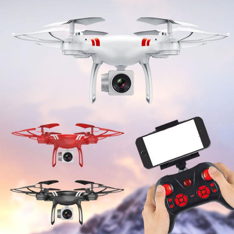 RV77 WIFI Remote Control Quadcopter HD Camera Outdoor Toys 360 Degree Rotation Drones