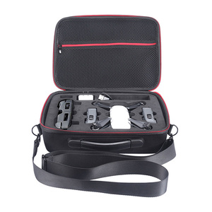 Image 3 - 2018 NEW Portable Drone Case EVA Hard Shell Shoulder Bag Storage Bags Handle Box For DJI Spark Drone Accessories