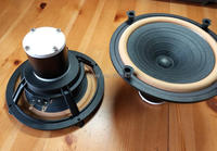 pair 2pcs HiEND 6.5inch fullrange speakerDIATONE P610S CL0N (2019 big Alnico version)