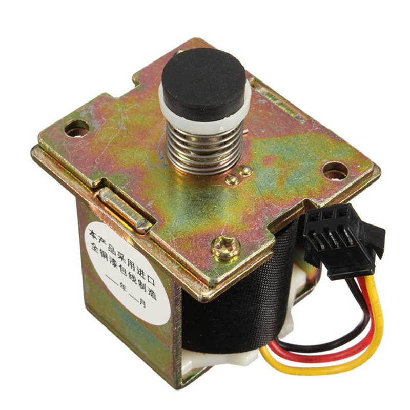 One Piece ZD131-B Gas Water Heater Accessories DC 3V Solenoid Valve Durable  Self-Priming Valve  SMT-ZD002