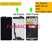 10Pcs/lot For Xiaomi Mi 4C Mi4C LCD Display Touch Screen Digitizer Sensor Pantalla monitor Mi4c LCD Assembly Complete With Frame цена