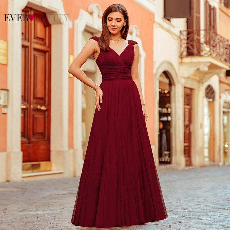 Pretty Wedding Dresses: Pink Bridesmaid Dresses For Women Ever Pretty Elegant A