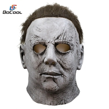 2018 Movie Halloween Horror Michael Myers Masker Carnaval Cosplay Volwassen Latex Full Face Helm Halloween Party Eng Props