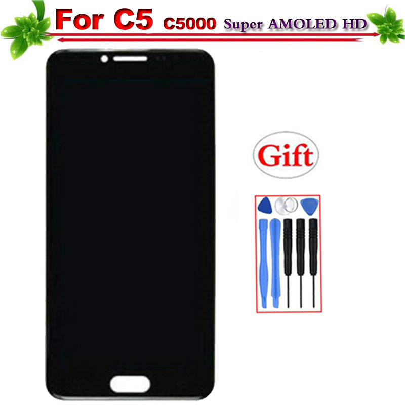 Super Amoled for SAMSUNG Galaxy C5 C5000 LCD Display Touch Screen Digitizer Assembly Replacement for SAMSUNG Galaxy C5 DisplaySuper Amoled for SAMSUNG Galaxy C5 C5000 LCD Display Touch Screen Digitizer Assembly Replacement for SAMSUNG Galaxy C5 Display