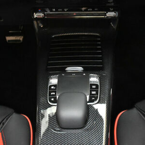 NEW 2 Pcs Car Gearbox Panel Decorative Cover Trim For <font><b>Mercedes</b></font>-Benz A-class <font><b>W177</b></font> 2019 image