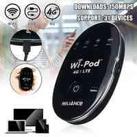 Портативный USB Wingle LTE Универсальный 4G мобильный wifi модем ключ технический автомобильный wifi беспроводной маршрутизатор на точке доступа sim-к...