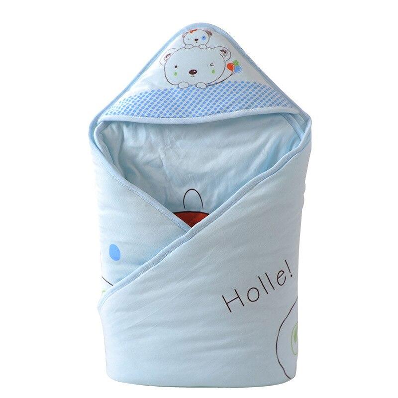 Bande dessinée nouveau-né bébé lange d'emmaillotage coton enfants couverture infantile doux couette sac de couchage emmaillotage couvertures pour filles garçons inbaker en