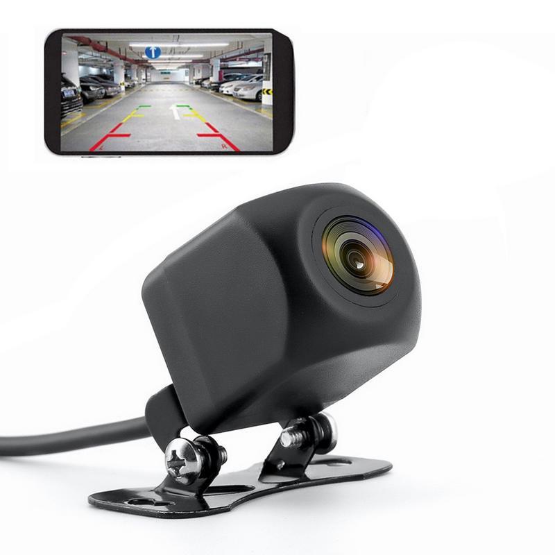 WIFI caméra de recul Dash Cam Étoiles vision nocturne Vue Arrière de Voiture Caméra Mini Corps imperméable à L'eau Tachygraphe Pour IPhone Et Android