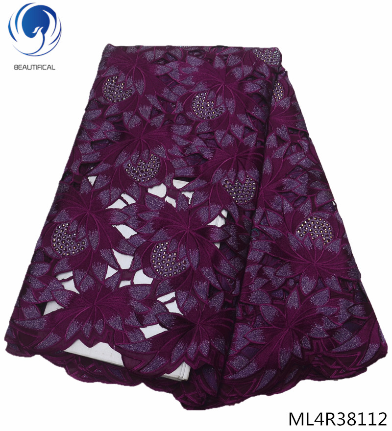 BEAUTIFICAL purple swiss laces fabric 2019 voile fabrics laces with rhinestones swiss lace fabrics for women 5yards ML4R381BEAUTIFICAL purple swiss laces fabric 2019 voile fabrics laces with rhinestones swiss lace fabrics for women 5yards ML4R381