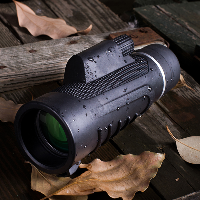 Monocular Telescope 10X42 for Mobile Powerful Professional Night Vision Objective Lens DigitaL Eyepiece Clarity Handheld Hunting