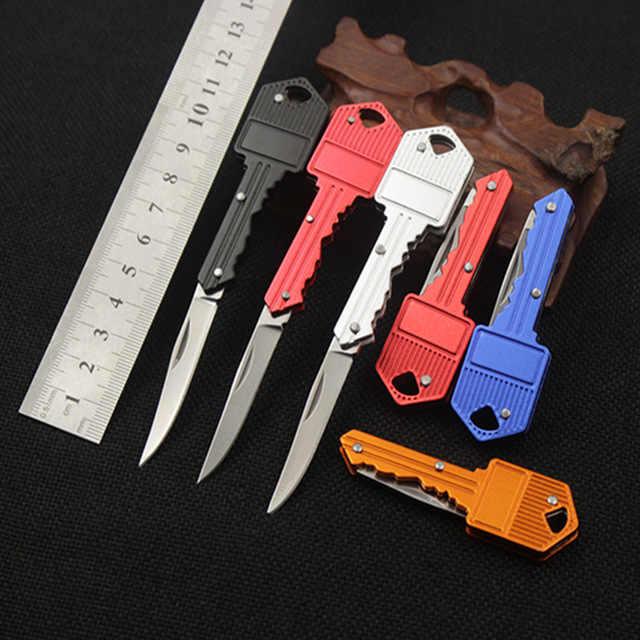 Camp sharp cutter Box Blade schil multi scheermes Open Hangen outdoor Mes Pare cutter cut Vouw Fruit tool Karabijnhaak Pakket overleven