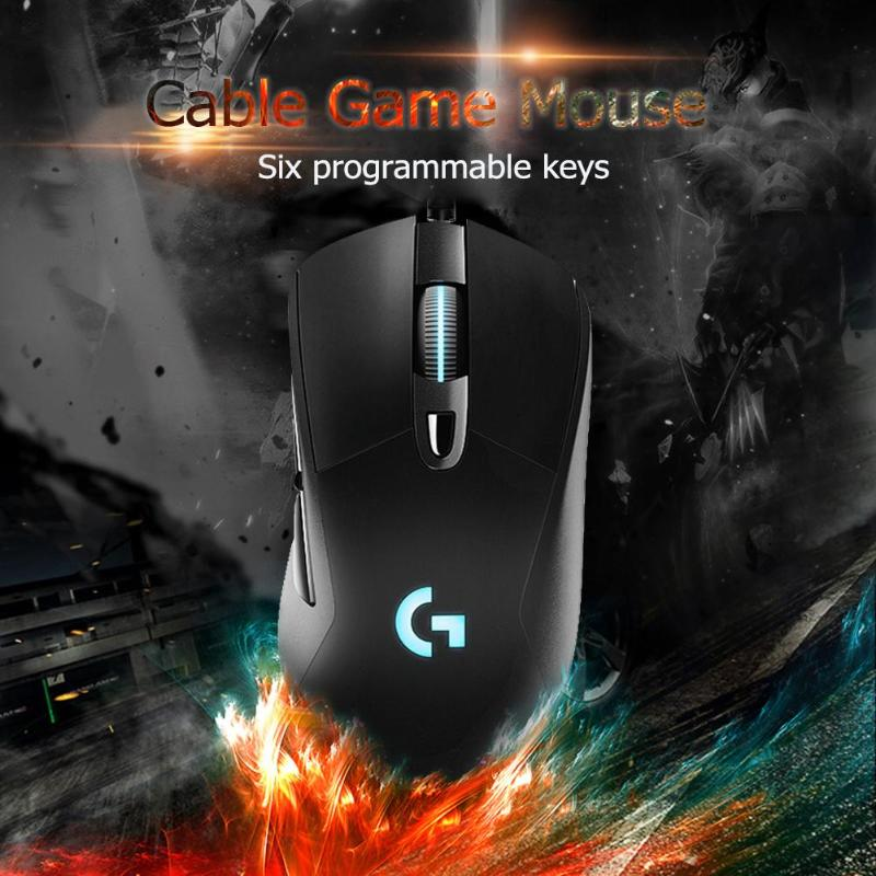 Image 4 - Logitech G403 Wired RGB Gaming Mouse Backlight 12000 DPI for PUBG PC Gamer Support Windows 10/8/7-in Mice from Computer & Office