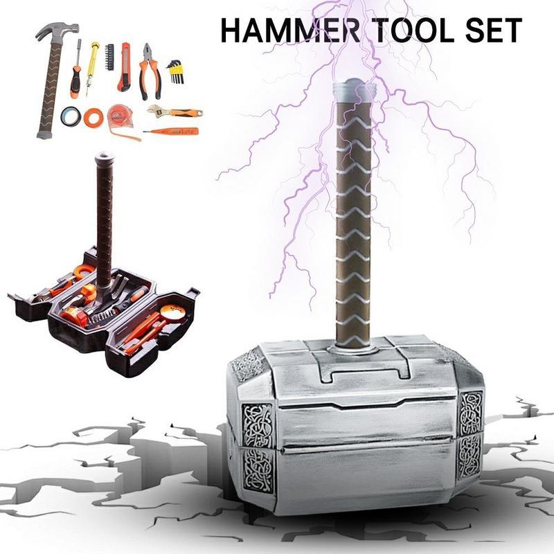 Kit d'outils de marteau multifonctionnel Thor bricolage domestique ensemble d'outils de marteau résistant à la Corrosion