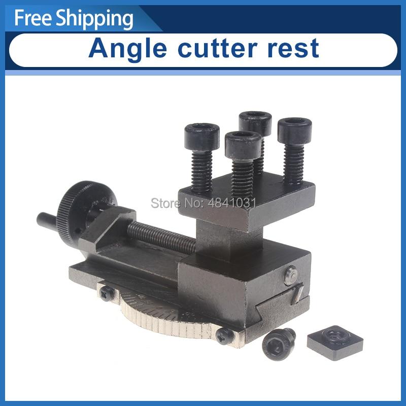Lathe Tool holder Angle cutter rest SIEG C0 Rotatable Lathe Tool Holder S N 10154 Mini