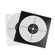 14X14CM 100PCS Shooting Practice Paper Archery Paintball Target Posters Square Sheet Professional Hunting Papers