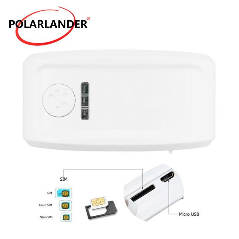TK909 GPS pet tracker Chien/Chat Collier Attachement personnel mini long temps de latence tracker noir jaune gris vert couleur option