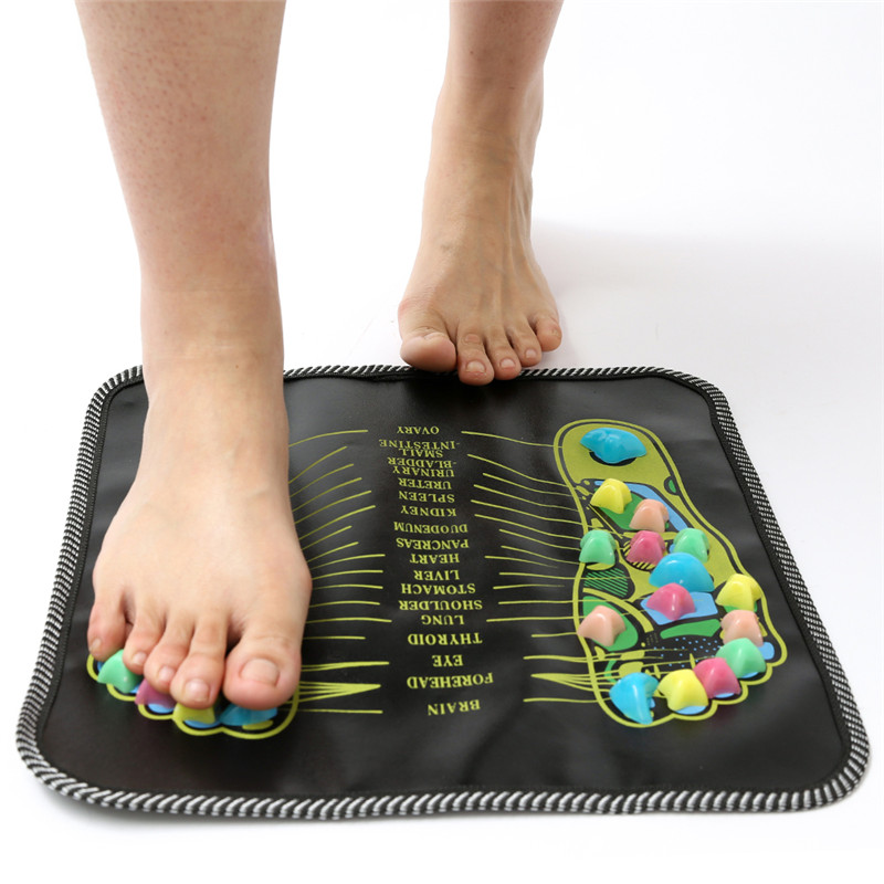 Reflexology Massage Mat Foot Acupressure Massage Pad Walk ...