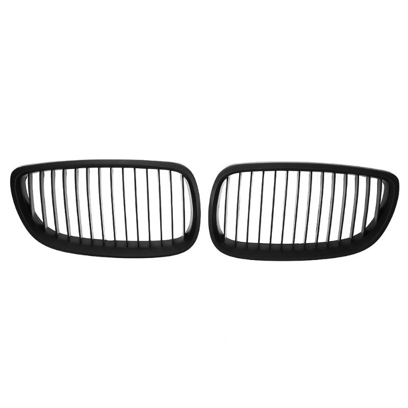 1 Pair Front Kidney Grille for BMW E92 E93 M3 06-10 Car Racing Matte Black1 Pair Front Kidney Grille for BMW E92 E93 M3 06-10 Car Racing Matte Black