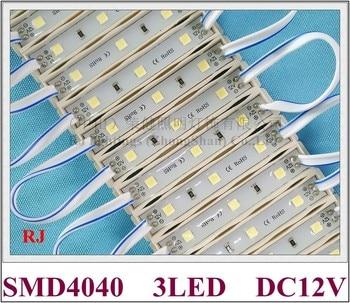 SMD 4040 LED light module for sign letter IP65 LED module DC12V SMD4040 3 led 1W 100lm 64mm*9mm*4mm tape or glue installation