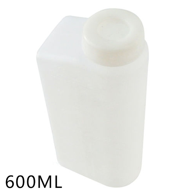 600ML 2 Stroke Oil Petrol Fuel Mixing Bottle Tank For Trimmer Chainsaw 1:25 Sale BBQ Kitchen Gadget Accessories
